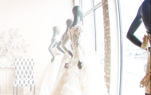 Photo of Henri's bridal dresses