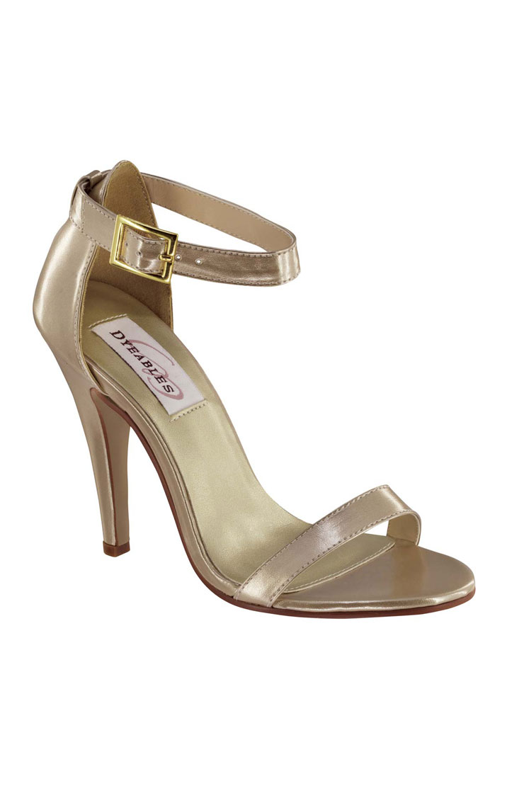 Benjamin Walk Shoes Faith Nude Metallic Image