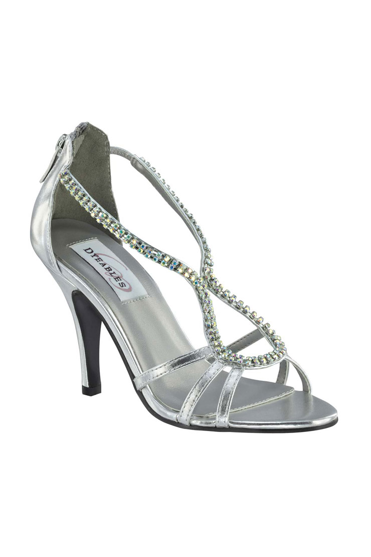 Benjamin Walk Shoes Josie Silver Metallic Image