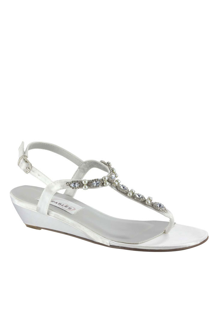 Benjamin Walk Shoes Myra White Satin