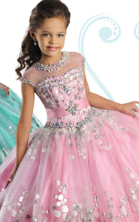 Child's Pageant Sale Dresses Ritzee 7020