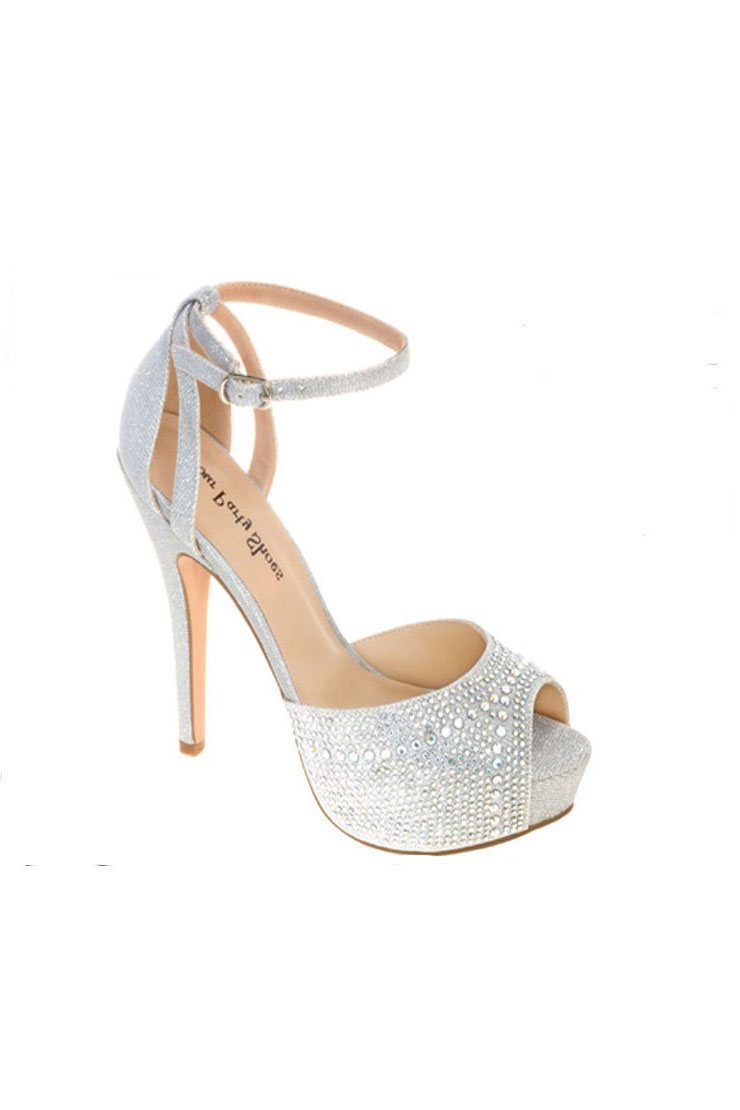 Your Party Shoes Taylor-Silver