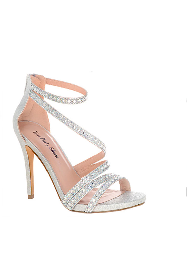 Your Party Shoes Willow-Silver