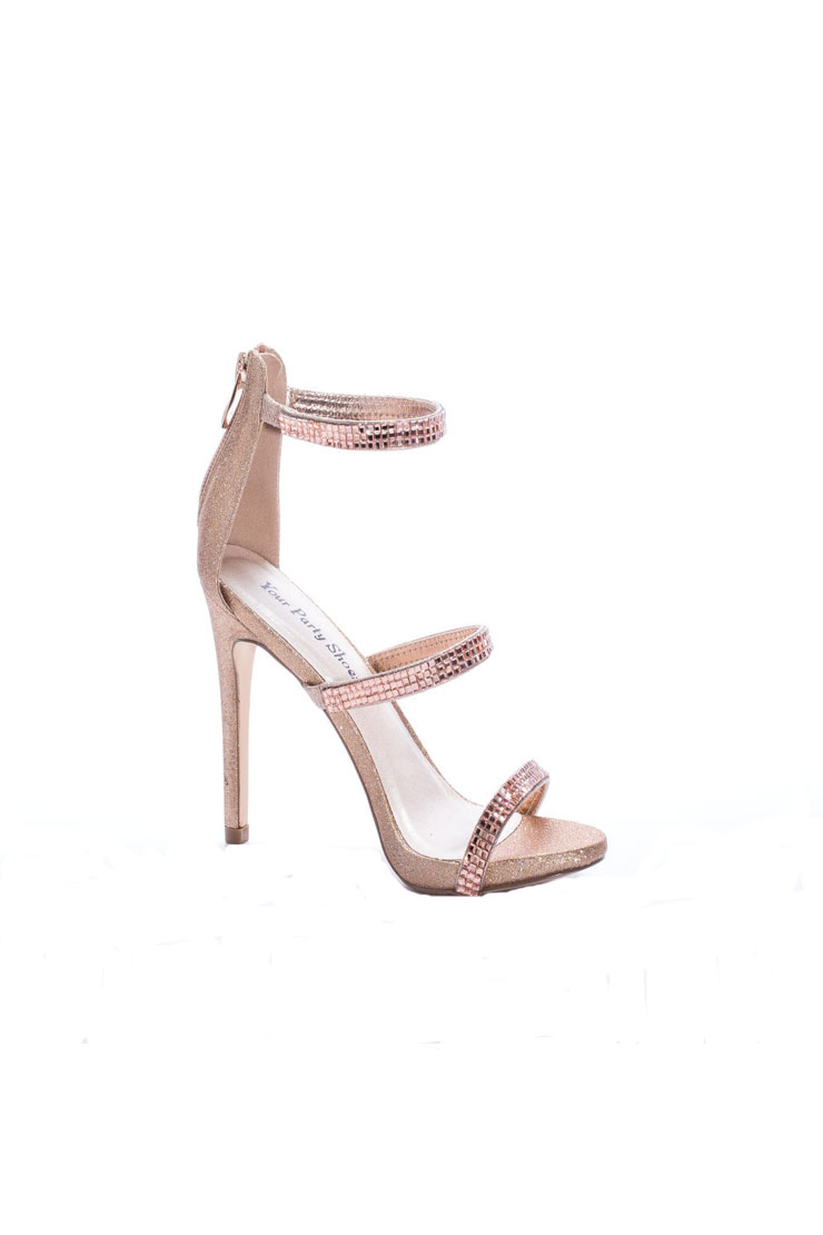 Your Party Shoes Jersey-Rose Gold Image