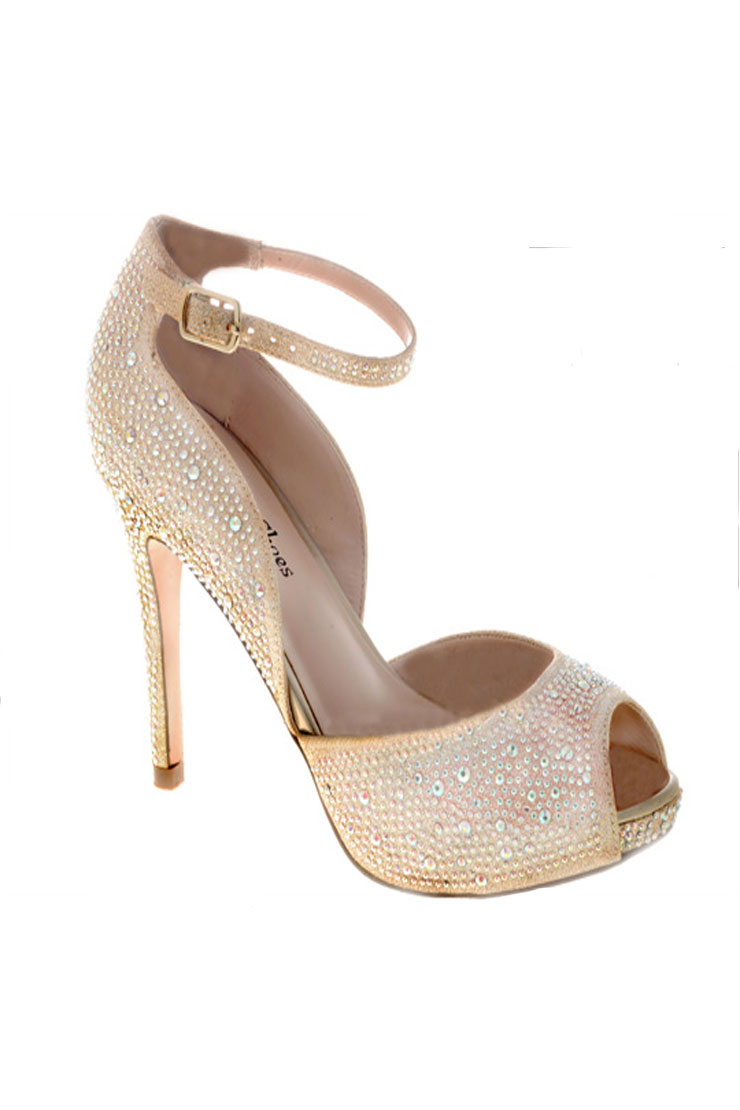Your Party Shoes Reese-Nude