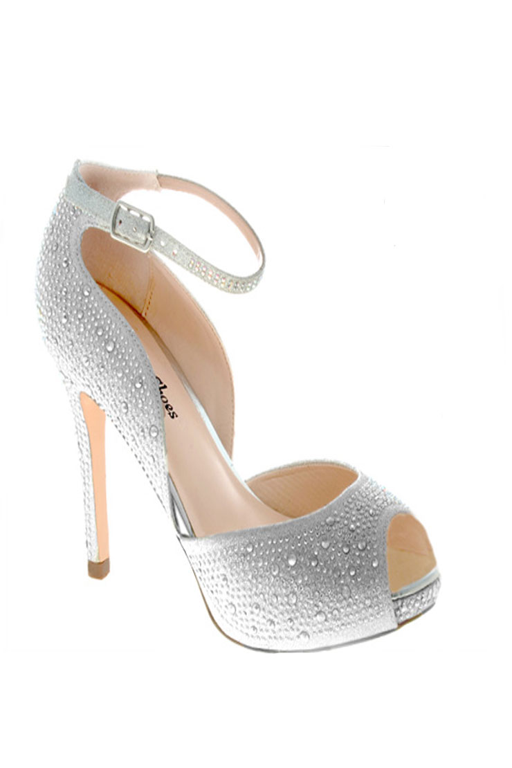 Your Party Shoes Reese Silver