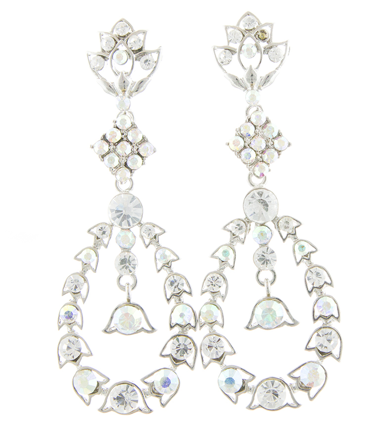 Jim Ball Jewelry Jim Ball CE802 Swarovski Crystal Earrings Image