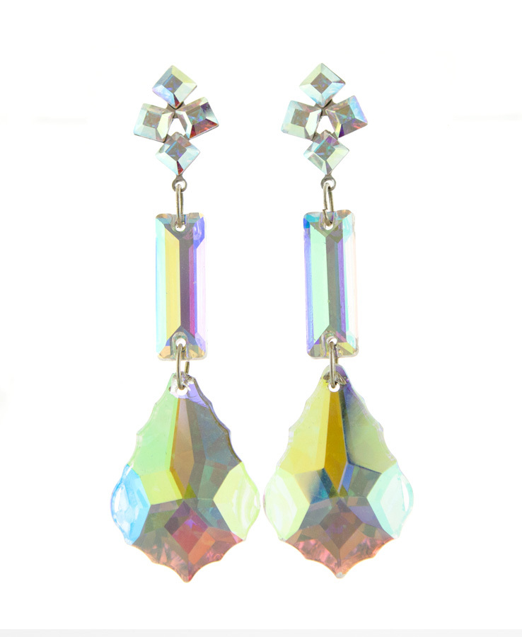 Jim Ball Jewelry Jim Ball CE866 Swarovski Crystal Earrings Image