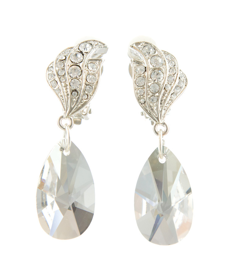 Jim Ball Jewelry Jim Ball CE934 Swarovski Crystal Earrings Image