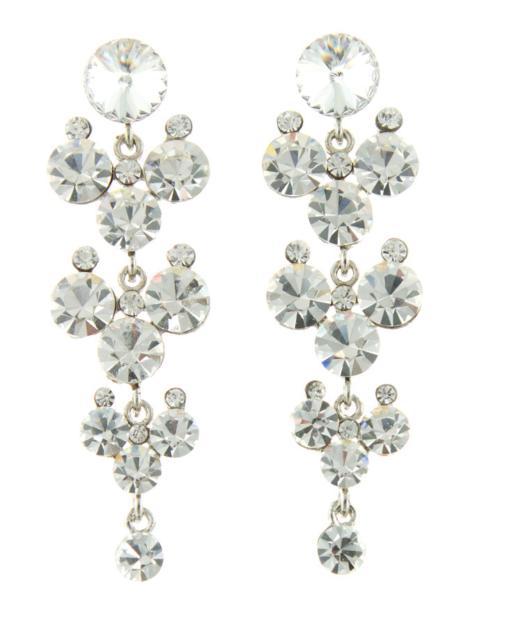 Jim Ball Jewelry Jim Ball CE944 Swarovski Crystal Earrings Image