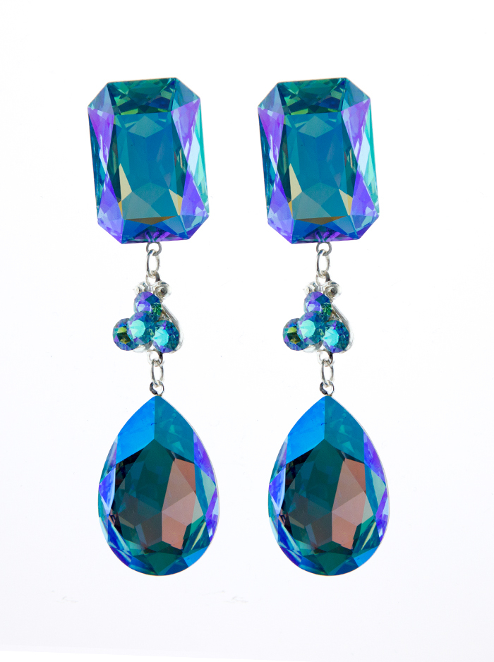 Jim Ball Jewelry Jim Ball CE981 Swarovski Crystal Earrings Image