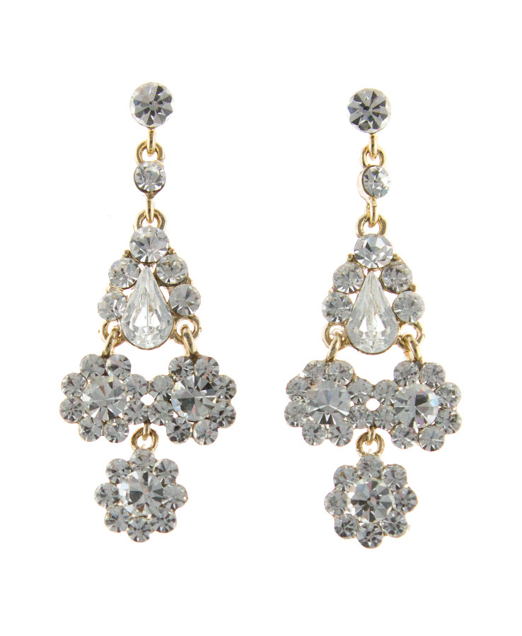 Jim Ball Jewelry Jim Ball CE954 Swarovski Crystal Earrings Image