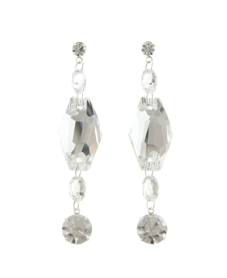 Jim Ball Jewelry Jim Ball CE955 Swarovski Crystal Earrings Image