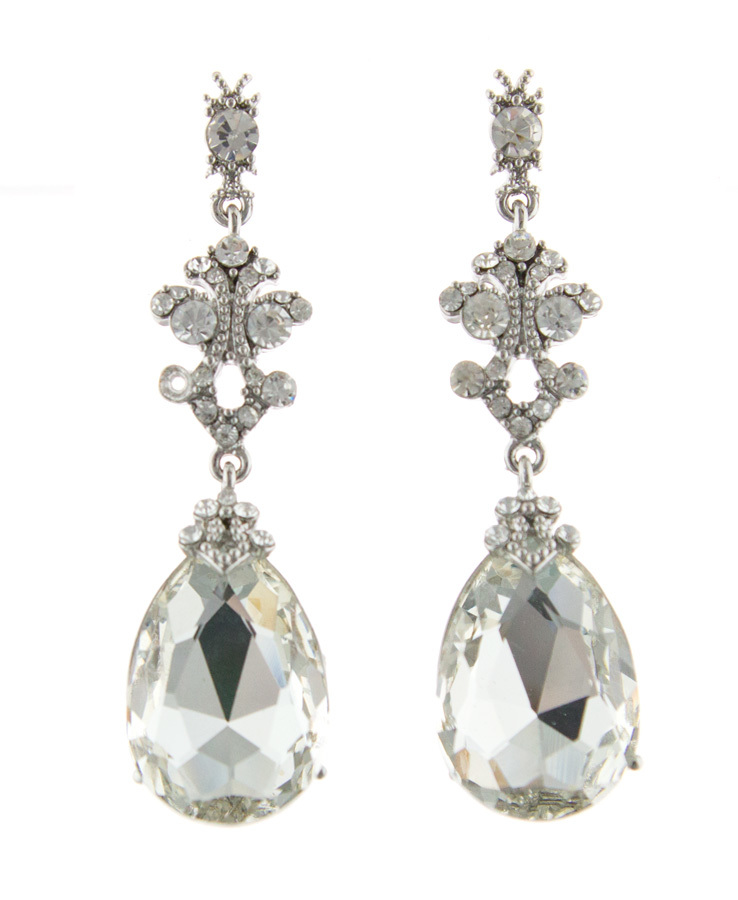 Jim Ball Jewelry Jim Ball CE859 Swarovski Earrings Image