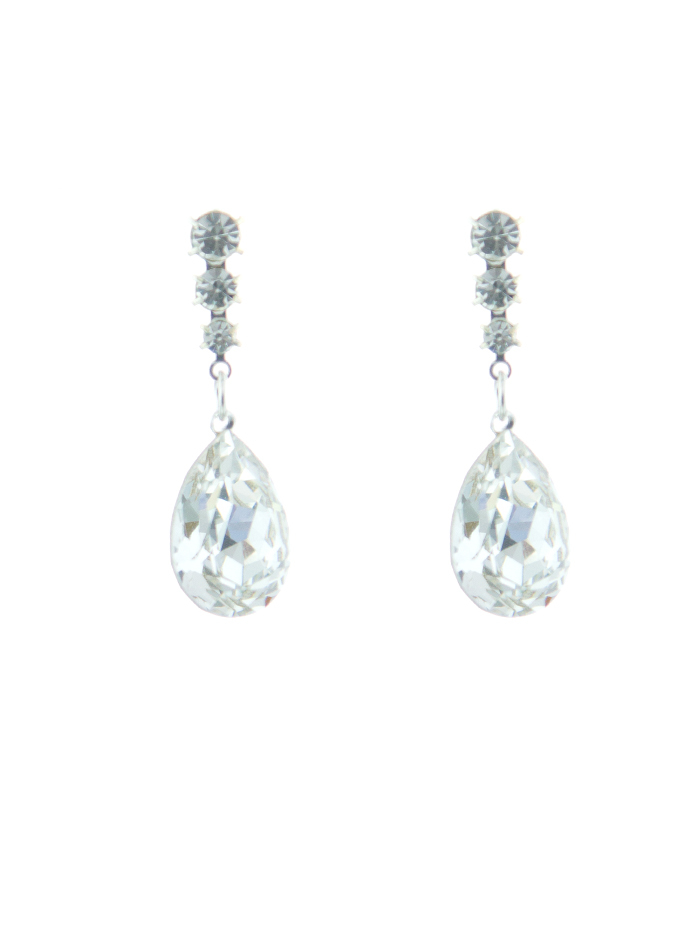 Jim Ball Jewelry Jim Ball CE968 Swarovski Crystal Earrings Image