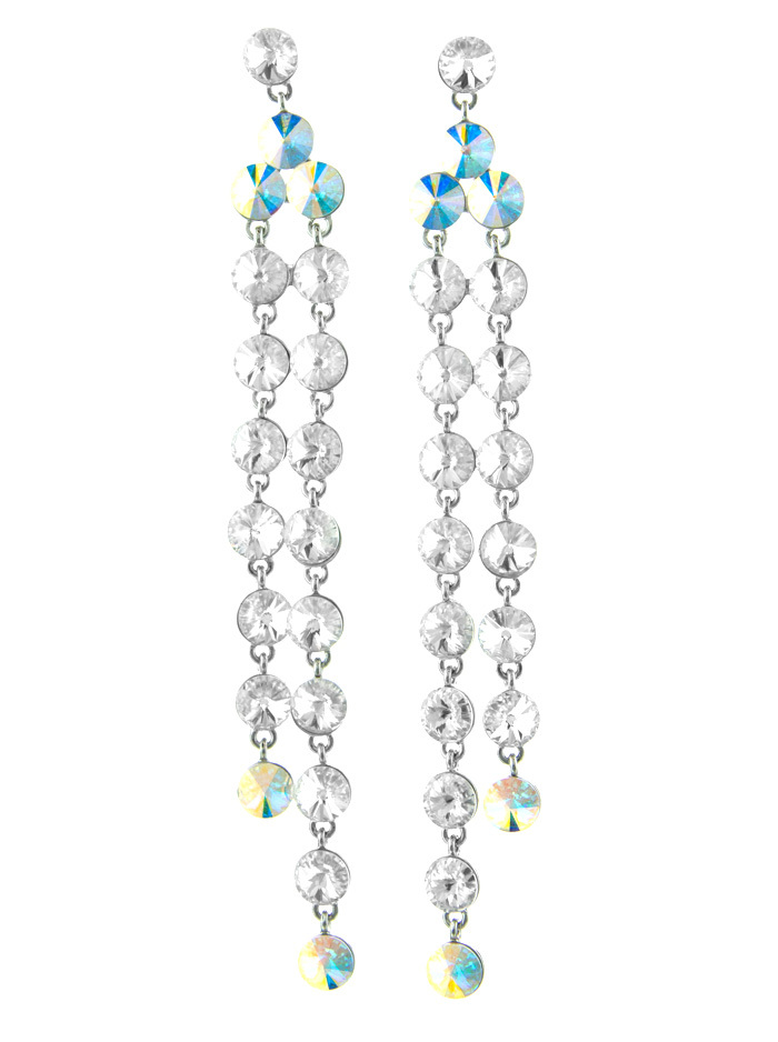 Helen's Heart Jewelry Helen Heart JE-X006334 Swarovski Crystal Earrings