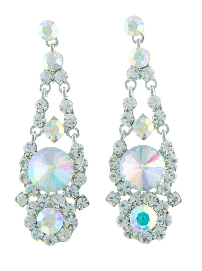 Helen's Heart Jewelry Helen Heart JE-X007126 Swarovski Crystal Earrings