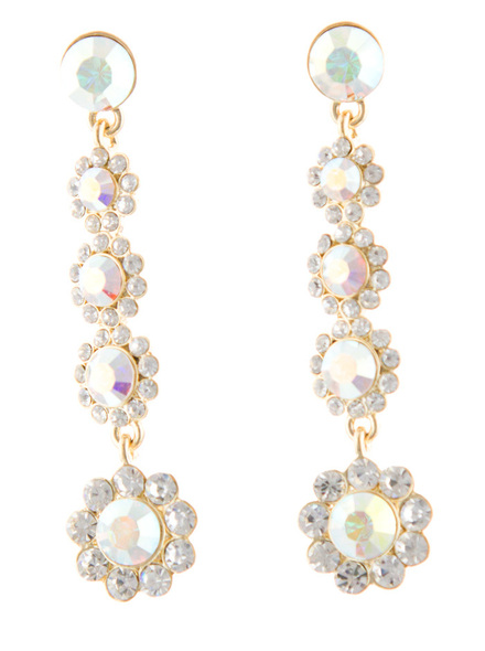 Helen's Heart JE-X004387 Swarovski Crystal Earrings